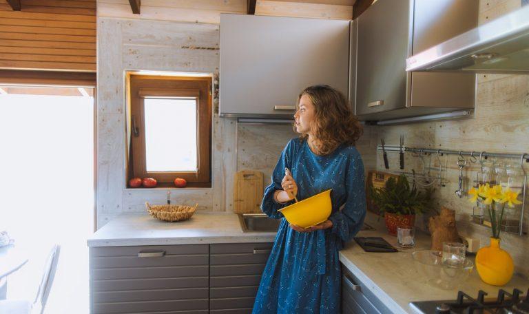 glinka wenecka w kuchni